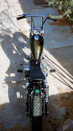 mustache ride | honda rebel brat bobber by machine-13