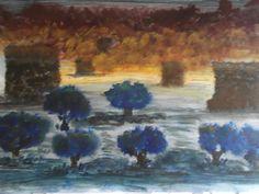 "Desert of Knowledge"" Painted By Fadi Abu-Deeb"