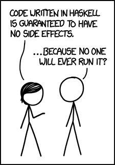 Haskell ist die beliebteste Programmiersprache am Wochenende