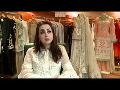 Maria B Chiffon Embroidery Eid Collection 2016 - YouTube