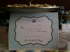 "Photo 1 of 12: high tea / Baby Shower/Sip & See ""Royal Baby Shower"" 