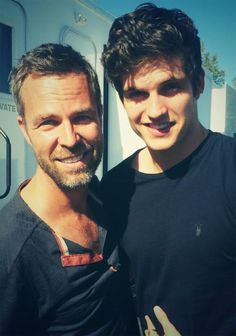 JR Bourne Twitter: Can you find @daniel_sharman ? Hint… visiting a certain set today.