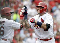 Cardinals ganan el primero de la doble tanda ante los Padres 4-2.