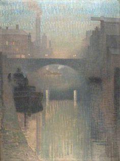 Bailey Bridge, Manchester Adolphe Valette