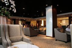 Thai Airways, First Class Lounge, Bangkok