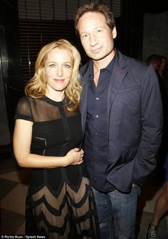 Gillian, who played Agent Dana Scully and David, who starred as Agent Fox Mulder, have remained close since working together on The XFiles Paley Centre 2013