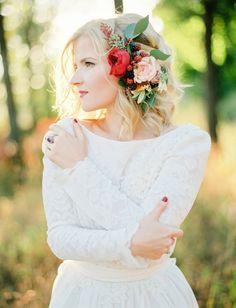 Organic Marsala Wedding Inspiration   Green Wedding Shoes Wedding Blog   Wedding Trends for Stylish + Creative Brides