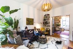 Warm, Eclectic One Bedroom | A Cup of Jo