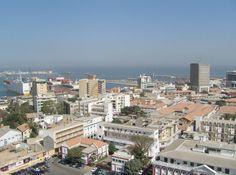 Dakar City Centre And The Docks