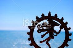 Indian Deity Shiva Nataraja Statue Royalty Free Stock Photo