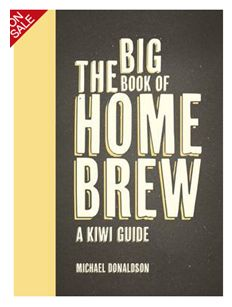 Whitcoulls - The Big Book of Home Brew: A Kiwi Guide by Michael Donaldson, $39.99. Jam-packed with advice, expertise, hints, tips, pitfalls, recipes and yarns, The Big Book of Home Brew is, quite simply, the bible for home-brewing beer in New Zealand. Great for any Dad that appreciates a cold one!