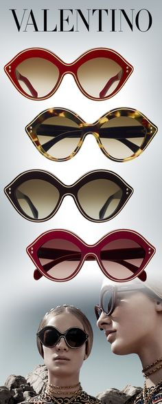 Pucker Up in Smoochable Valentino Sunnies: http://eyecessorizeblog.com/?p=5724