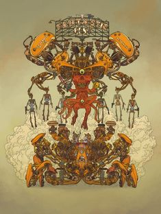 Fantastic Fest poster by Geof Darrow