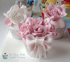 gorgeous pink and white delights..