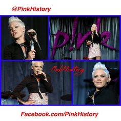 """""""On This Day in #PinkHistory 23rd June 2007 Pink played at Malahide Castle in Dublin on the I'm Not Dead Tour #malahidecastle #dublin #ind #indera #indtour…"""""""