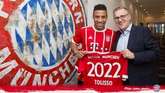 Bayern Munich rope in Corentin Tolisso from Lyon making him club's most expensive signing ever #FCBayern  Bayern Munich rope in Corentin Tolisso from Lyon making him club's most expensive signing ever  New Delhi: German champions Bayern Munich on Wednesday broke their transfer record to sign versatile midfielder Corentin Tolisso for 41.5 million euros ($46.75 million) with the 22-year-old France international penning a five year deal.  Tolisso comes from French Ligue 1 club Olympique…