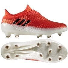 Adidas Messi 16+ PureAgility Youth FG Soccer Cleats (Red Black White) 33d235bfb23