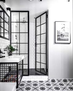 Bathroom Inspiration : Fayola Decor - Decoration For Home Bathroom Renos, Bathroom Renovations, Bathroom Interior, Home Remodeling, Bathroom Ideas, Bathroom Cabinets, Bathroom Tray, Glass Bathroom, Glass Shower