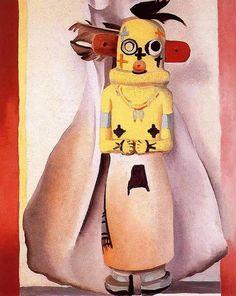 'Kachina' de Georgia O'keeffe (1887-1986, United States)