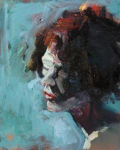 portrait 50*60 cm by Bea Bozon