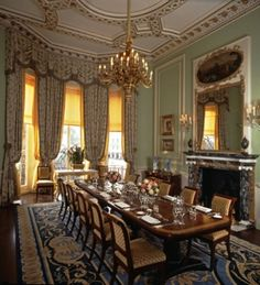 The Royal Suite Dining Room as conference room inspiration? Luxury Dining, Decor, Elegant Dining Room, Ritz Hotel, Elegant Dining, Royal Room, Dining Room Decor, Beautiful Interiors, Interior Design