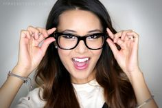From Head To Toe: Makeup for Glasses!