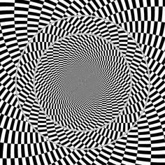 Ouchi illusion