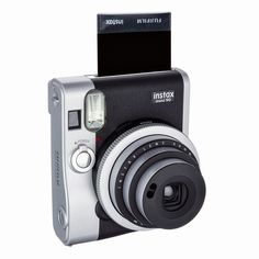 Instax Mini 90 Neoclassic Camera  #Fuji #Camera #retro  #polaroid #film #lens #lynnfriedman #Gadget #gadgetlove