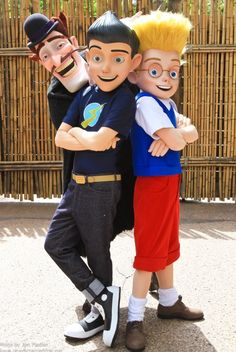 Meet the Robinsons ... Photos from my friends at http://www.charactercentral.net/