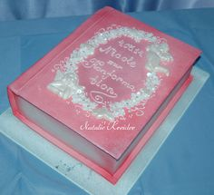 -- Comunion Cakes, Book Cakes, Psp, First Communion, Christening, Music, Baby, Christening Cakes, Floral Arrangements