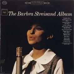 Barbra Streisand – The Barbra Streisand Album 1963 ( LP, Album, Vinyl Record ) Ballad, Pop music Lp Cover, Vinyl Cover, Vinyl Music, Vinyl Records, Classic Album Covers, Barbra Streisand, Music Covers, Vintage Music, Female Singers