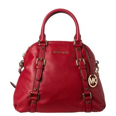 @Overstock.com - MICHAEL Michael Kors Bedford Bowling Satchel - This stylish designer bag by Michael Kors is offered in a striking red and features a Michael Kors logo charm. With over five pockets, you can organize your belongings in style.  http://www.overstock.com/Clothing-Shoes/MICHAEL-Michael-Kors-Bedford-Bowling-Satchel/7954309/product.html?CID=214117 $349.99