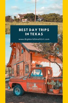 My 10 favorite Austin day trips with recommendations to help plan your next weekend get away. One Day Trip, Weekend Trips, Weekend Getaways, Texas Getaways, Road Trip Essentials, Road Trip Hacks, Road Trips, Texas Travel, Travel Usa