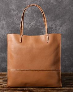 e2e9e713fabd Handmade Women Leather Tote Bag Brown For Women Leather Gifts