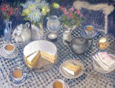 Tea and Cake by Felicity House