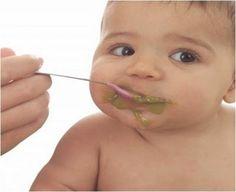 Como preparar as refeições para o seu bebé  Veja mais em http://www.comofazer.org/culinaria/como-preparar-as-refeicoes-para-o-seu-bebe/
