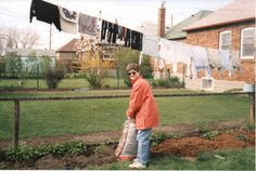 Mulching around plantings the first spring after the primary planting. May Photo courtesy of the homeowner. Starting A Garden, Planting, York, Spring, Plants