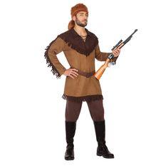 Adult daniel boone costume