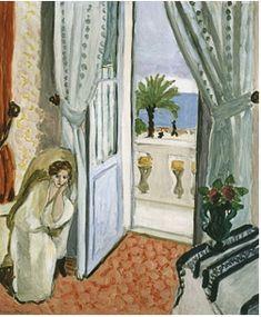 Henri Matisse's Intérieur à Nice (Interior in Nice) (1920), at Museo Thyssen Bornemisza.