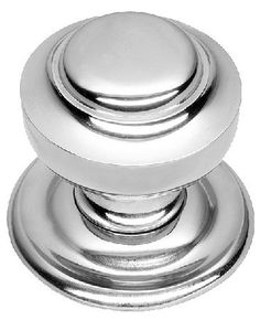 Satin Chrome Octagonal Centre Pull Door Knob Handle SCP15A