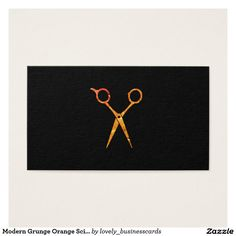 Modern Grunge Orange Scissors Appointment Business Card #haircare #salonowner #appointment #hairstylist #cosmetologist #salonstylist #grunge #rustic #orange #professionalstylist #hairstylistschool #licensedesthetician #cosmetologyschool #shears #barber #esthetician #scissors #haircut #womensbeauty #hairstylist #barbershop #hair #stylist #beautyspa #trim #grooming #personalcare #elegant #fashion #barbering #barbershopconnect #barberfam #schedule #green #texture #grungy #artistic #design…