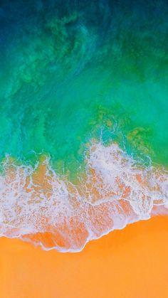 iOS 11 New Wallpaper for iPhone and iPad!   MacRumors Forums   Plaj duvar kağıdı, Plaj dalgaları, Telefon duvar kağıtları