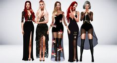 Supernatural Beauty Guess what? It's another collection from Lookbook! You can find it here. Most of these looks are inspired by the collection. I really love this one, so I hope you do too. Thank you to all custom content creators. Enjoy! Outfit...