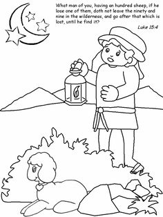13 Awesome Parable Of The Lost Coin Coloring Page Images