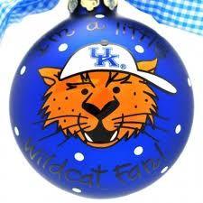 UK Wildcat Ornament
