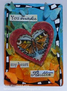 Heart aflutter by Nikki Woodward. For more details check out: http://southernchipboard.blogspot.ca/2015/03/heart-aflutter.html. To order this amazing chipboard, check out: www.chipboard.ca