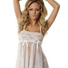 Velvet-Kitten-Sensual-Lace-Babydoll on pinklacelingerie.com