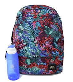 Vans Realm Saulo Ibarra Backpack Bundle With RolBot Water Bottle *** Click image for more details.Note:It is affiliate link to Amazon.