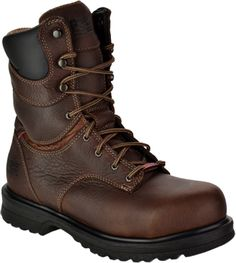 "Women's Timberland 8"" Steel Toe WP/Insulated Work Boot TM88116: STEEL TOE SHOES"