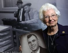 Widow of hero cop shot dead by JFK killer Lee Harvey Oswald reveals touching letter Jackie sent her a week later to share her 'inexpressible sympathy' Loss: Marie Tippit poses with a picture of her husband J.D., who was shot dead by Lee Harvey Oswald after confronting him following his assassination of President John F. Kennedy in 1963